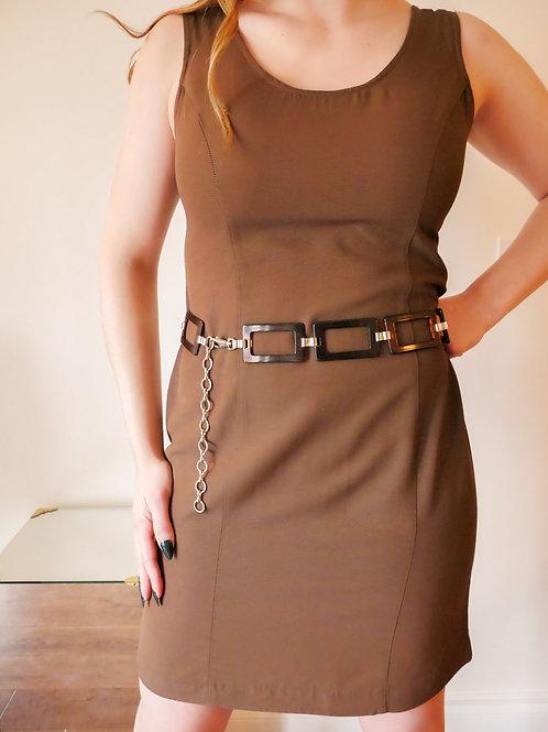 Brown Chain Belt (4-6)