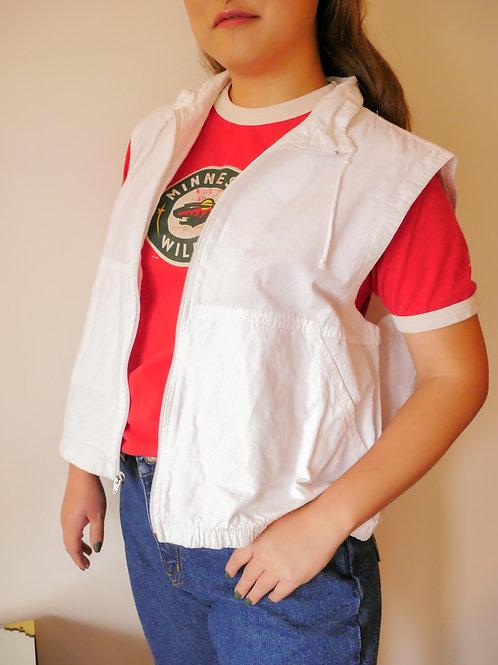 Blanco Cotton Vest (4-8)