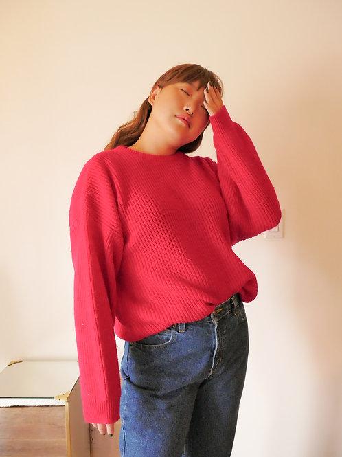 Fuschia Knit (L-XL)
