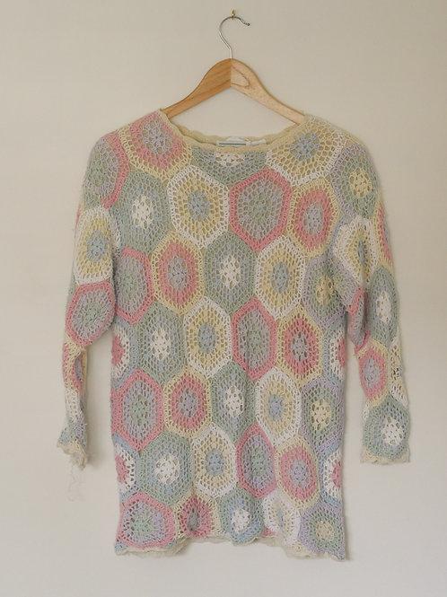 Pastel Crochet Top
