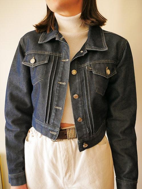 Cropped Denim Jacket (0-4)