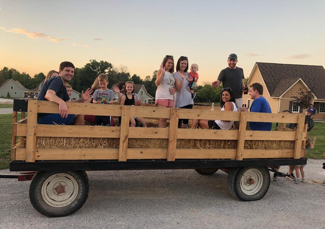 Wagon rides during Halloween Weekends