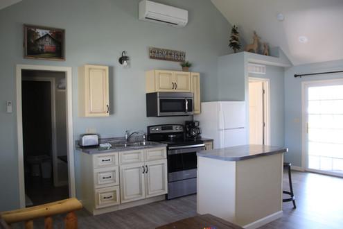One side of duplex Kitchen