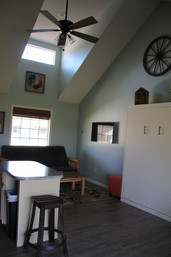 Murphy bed, family room