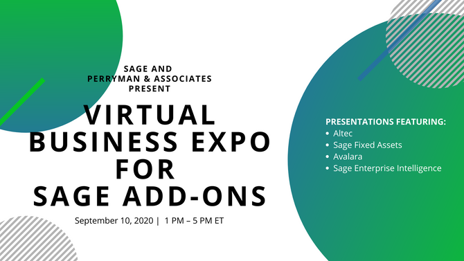 Sage Add-On Virtual Business Expo