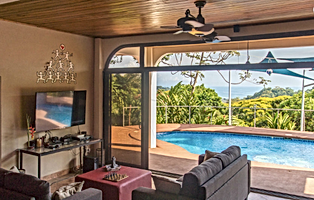 Dominical ocean view