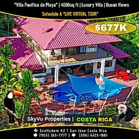 Dominical real estate ocean view propert