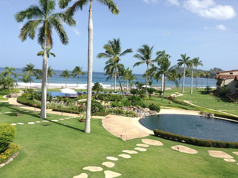 Palms beach front condos