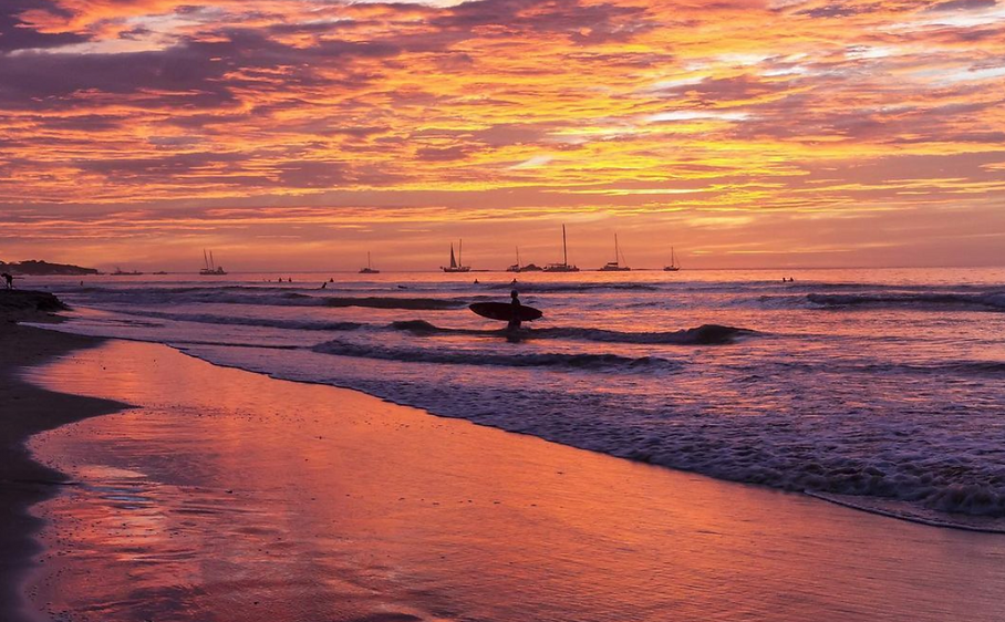 Costa Rica Beach playa langosta vacation home rental