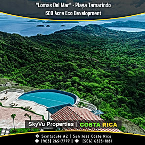 Lomas Del Mar Real Estate Costa Rica