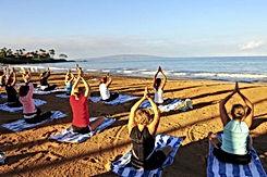 yoga class beach costa rica