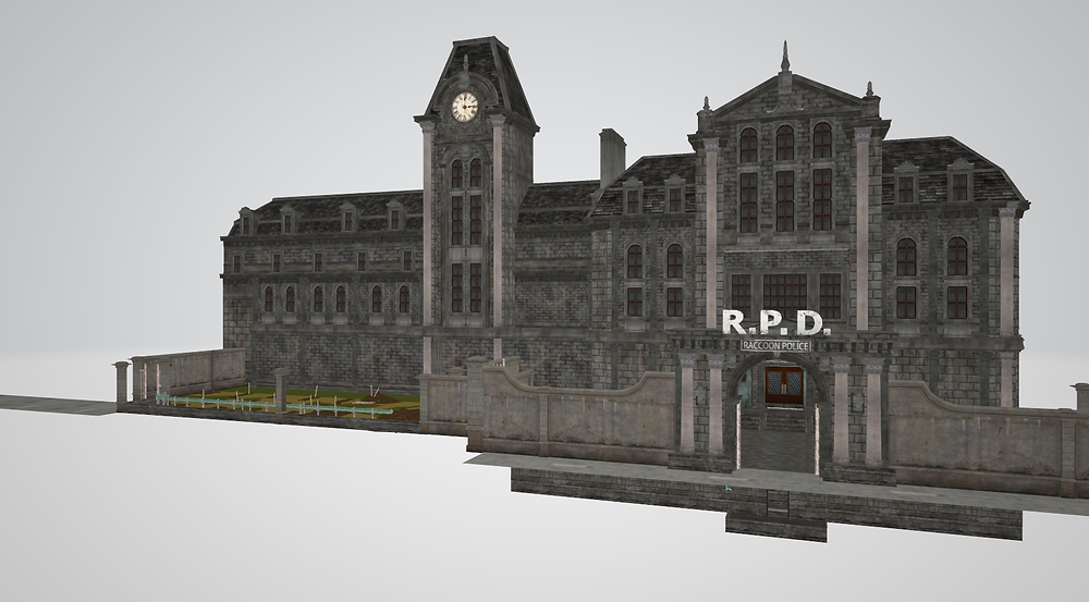 3D Model used for reference