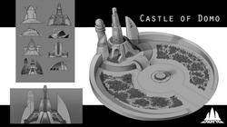 Castle of Domo Concept Art
