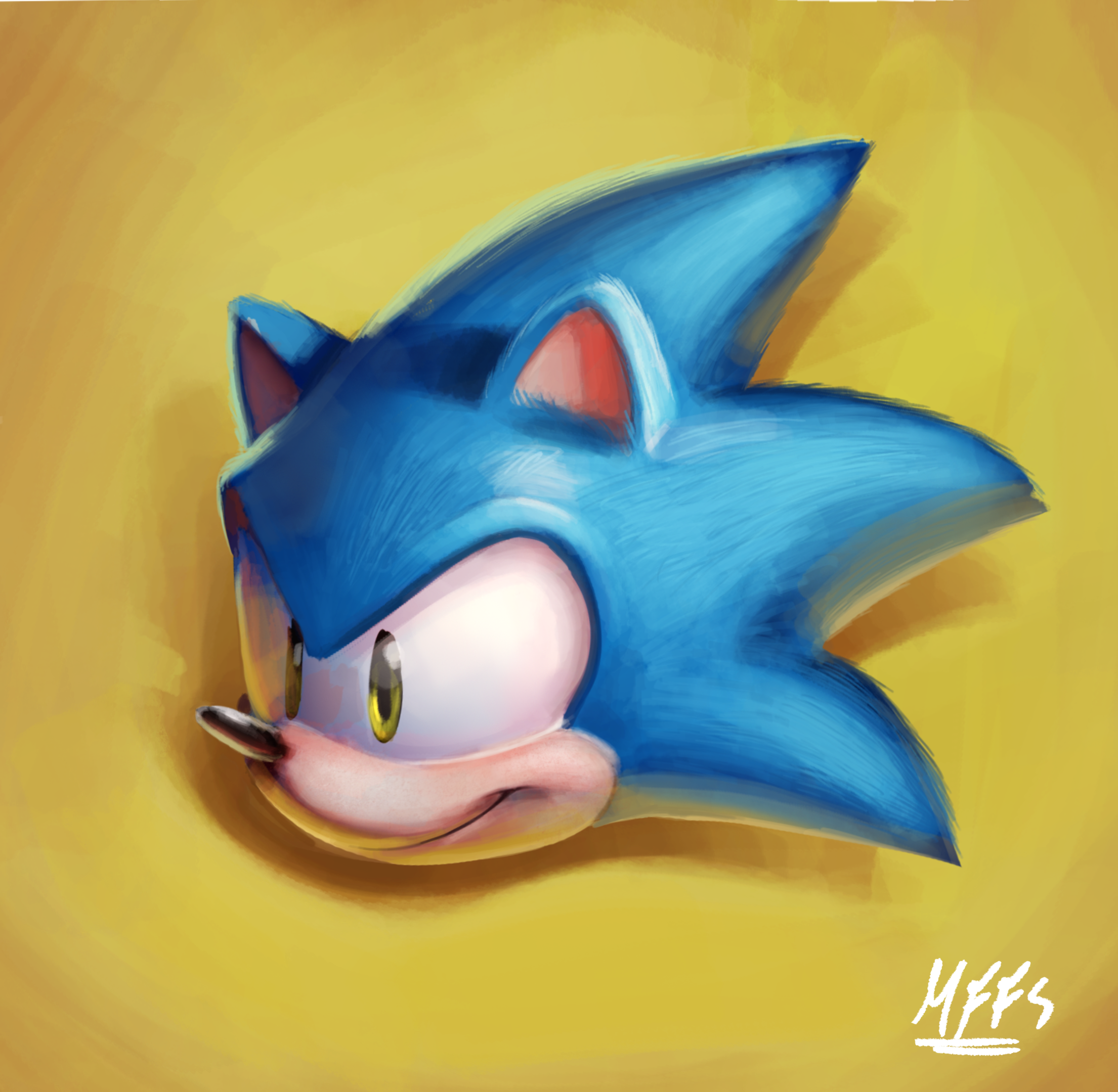 Sonic Head Painting