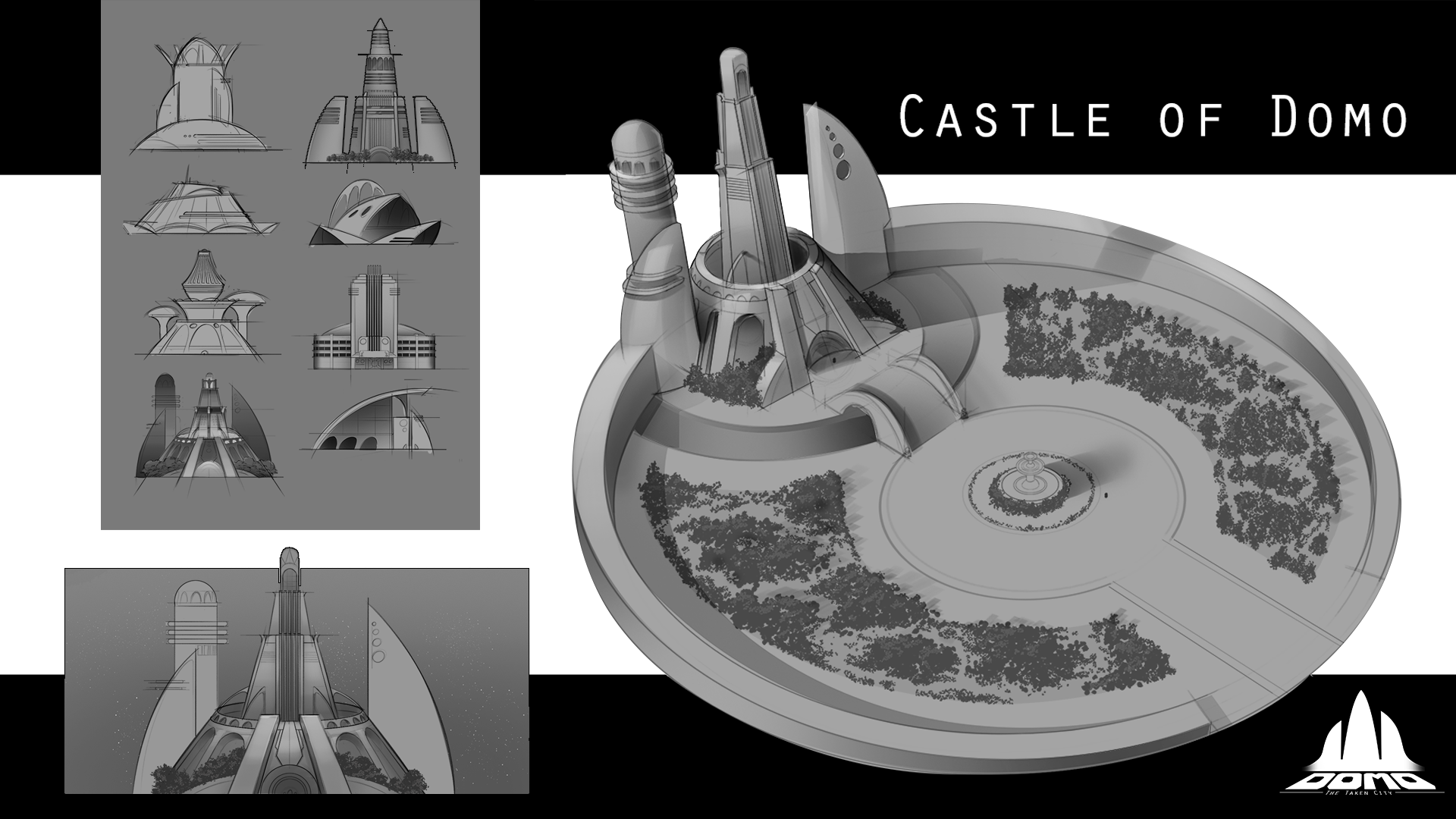 Castle of Domo Concept Art