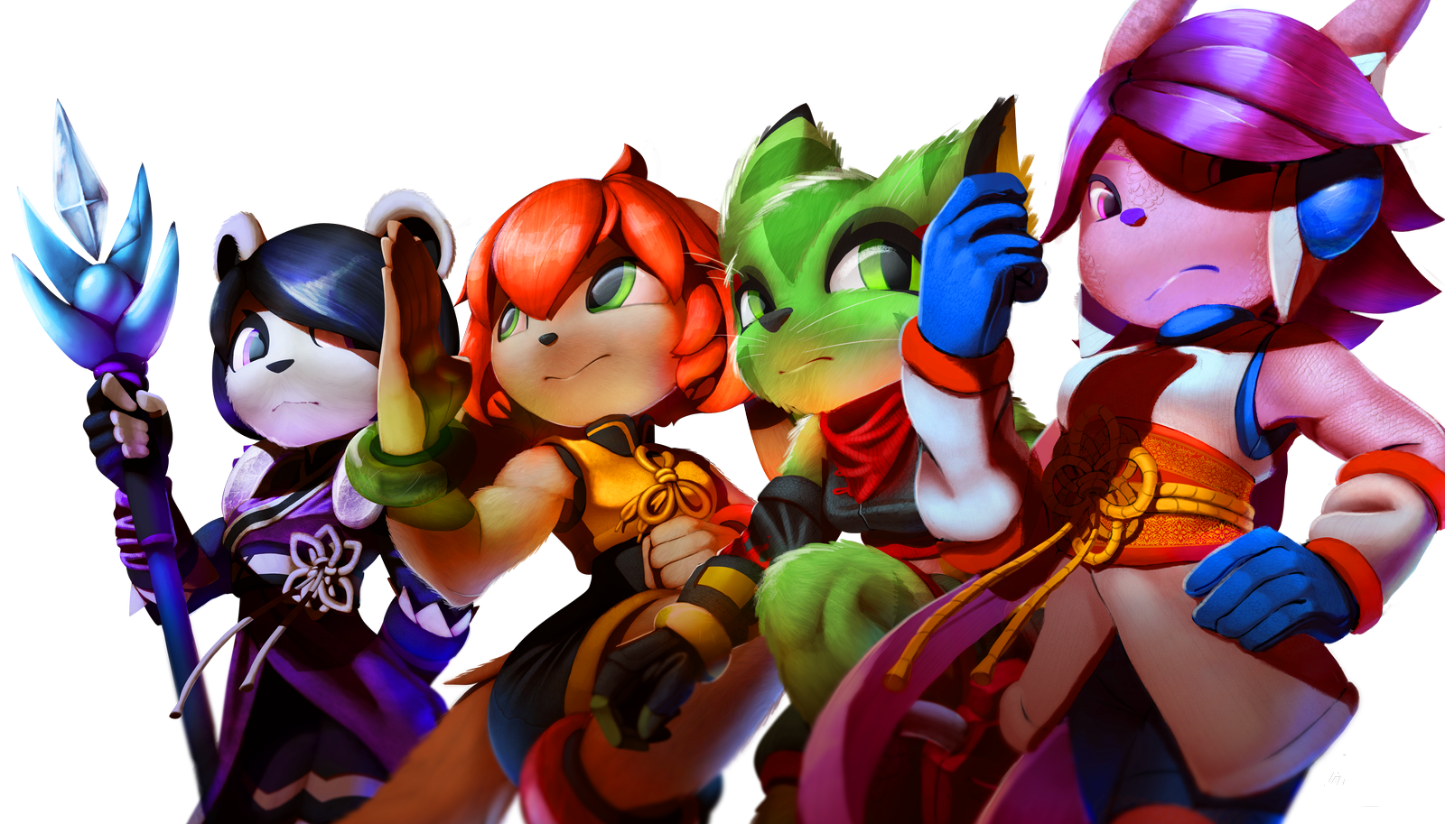 Freedom Planet 2 Heroes