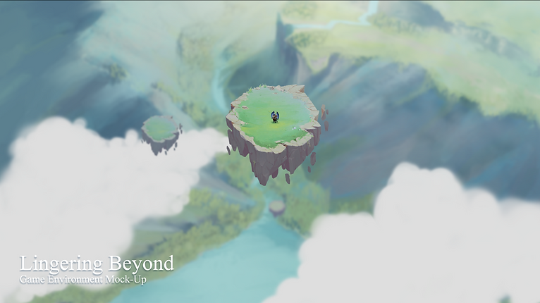 Lingering Beyond Game Environment Mock-Up (Floating land originally made by Rui Yan and modified by Matheus Freitas)