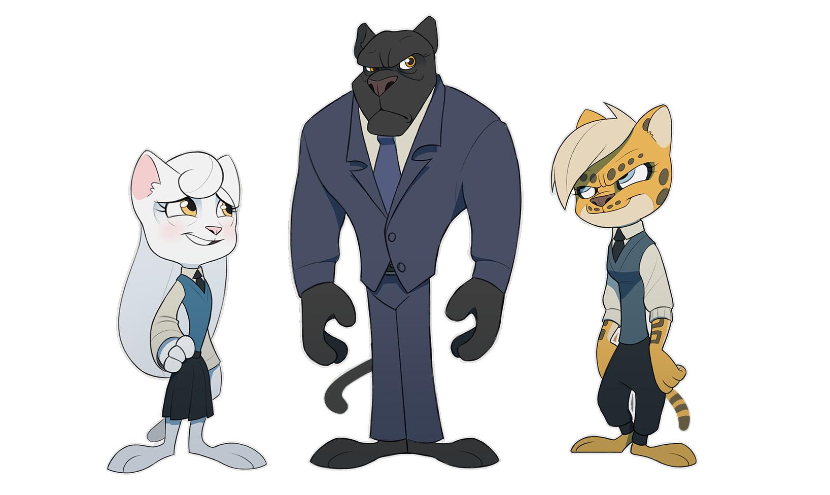 Feline Highschool Line-up