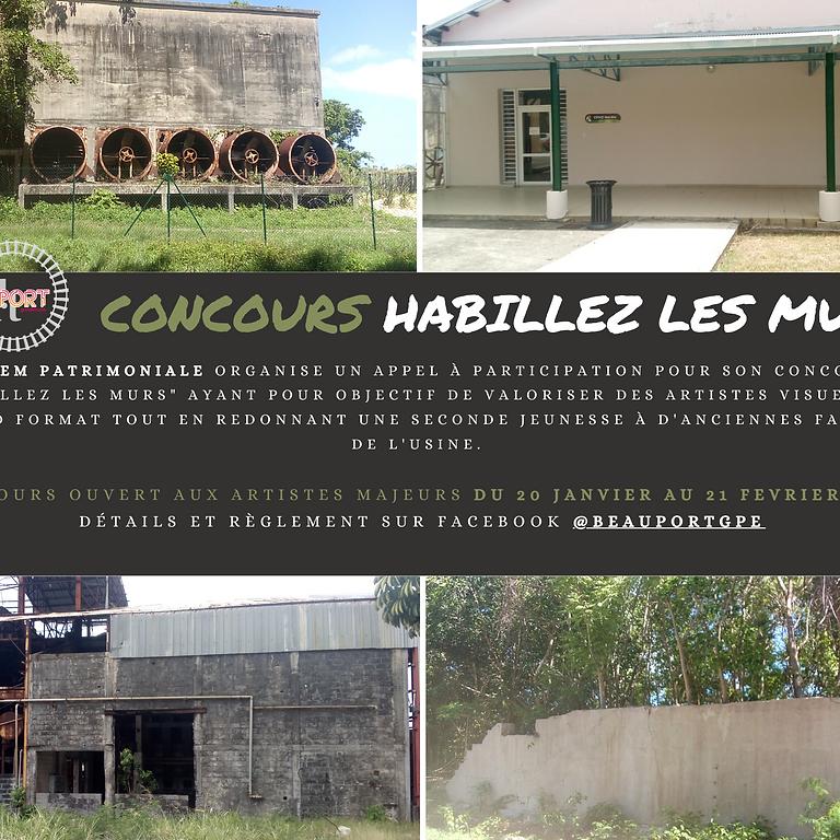 """Concours """"HABILLEZ LES MURS"""""""