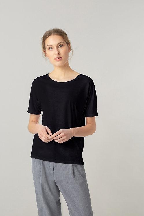 FUNKTION SCHNITT, - Essential Batty Shirt