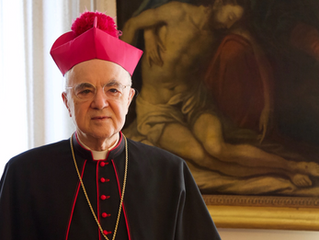 """Archbishop Vigano: """"The two forms of Mass, the Catholic Rite and the New Rite, cannot coexist."""""""