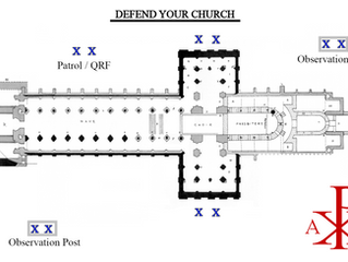 Rally Men! Defend your Churches from Marxist Rioters and Autonomous Zones