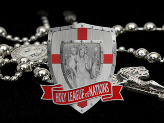 'Holy League of Nations' Rosary Uniting Catholics Worldwide
