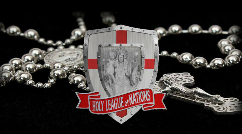 holy league of nations, holy league, rosary novena, holy rosary