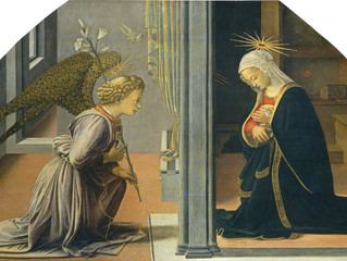 Annunciation of the Blessed Virgin Mary - March 25th