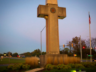 'Last-ditch' effort to save cross shaped war memorial