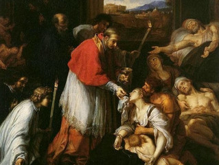 Great Saints, Who Fought Disease, Sin, and Administered Sacraments to The Sick and Dying