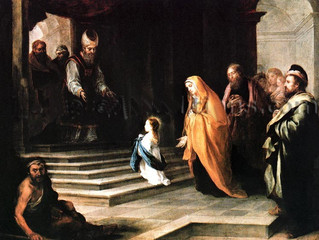 The Presentation Of The Blessed Virgin Mary - November 21st
