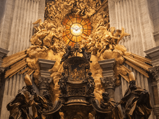 St. Peter's Chair in Rome - January 18th
