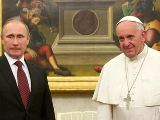 What Putin wants from the Pope