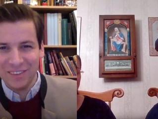 The Daily Knight's Alexandra Clark interviews Alexander Tschugguel on the Holy Sacrifice of the
