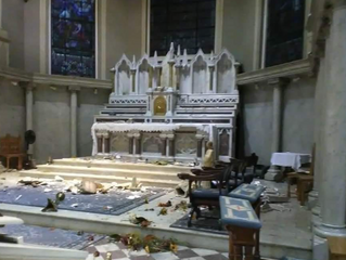 Another Catholic Church desecrated - it will get worse after the 2020 General Election