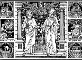 Saints Peter and Paul, Princes of the Apostles - June 29th