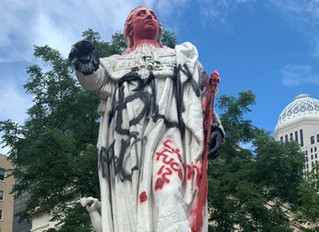 Statue of King Louis XVI removed in Louisville to appease Antifa & BLM