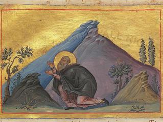 St. Hilarion, Abbot - October 21st