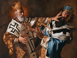 Feast of Saint Nicholas - defend Truth with a more masculine Catholicism