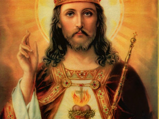Feast Of The Kingship Of Our Lord Jesus Christ - Last Sunday Of October
