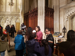 Confessions? St. Patrick's Cathedral converted confessionals into bathrooms