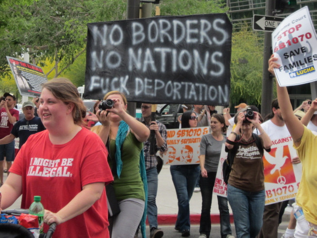 families belong together, keep families together, immigration, socialists, antifa