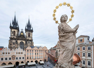 While America tears down statues of Saints, Prague restores Our Lady