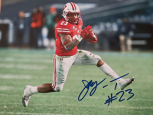 RB Johnathan Taylor 8x10 autographed Photo
