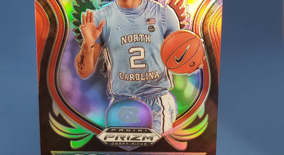 2020 Rudy Red Wave Panini Prizm Cole Anthony RC #89