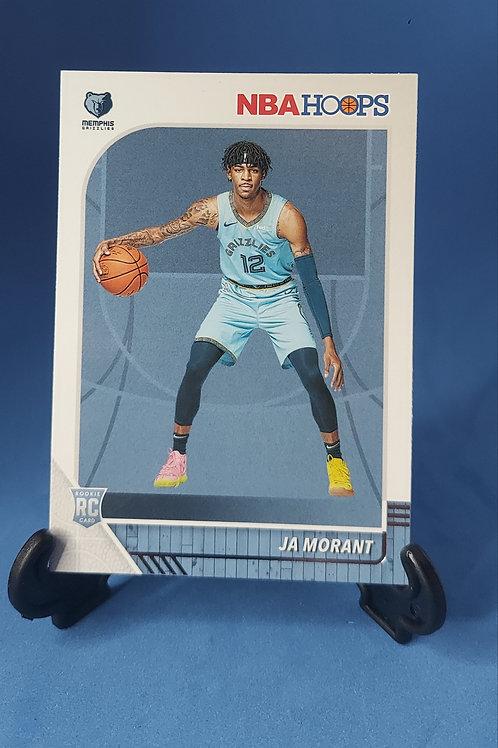 Ja Morant Memphis Grizzlies Hoops Panini #259 Rookie Card