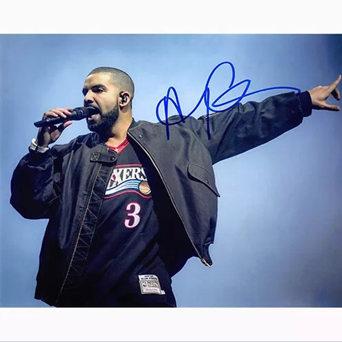 Rap/Singer/SongWriter Drake Autographed 8x10 photo COA