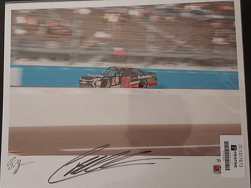 NASCAR CHRISTOPHER BELL AUTOGRAPHED 11X14 PHOTO