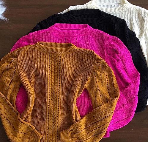 Blusa tricô Analú